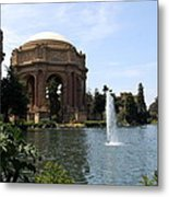 Palace Of Fine Arts And Lagoon Metal Print