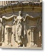 Palace Of Fine Arts Relief San Francisco Metal Print