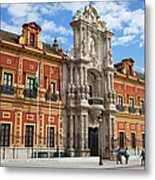 Palace Of San Telmo In Seville Metal Print