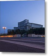Palace Of The Parliament  Metal Print