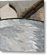 Palace Of The Solitude In Stuttgart - Germany From Above Metal Print