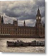 Palace Of Westminster Metal Print
