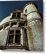 Palace Tower Of Chenonceau Metal Print