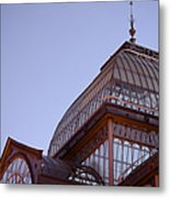 Palacio De Cristal Metal Print