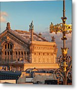 Palais Garnier Metal Print