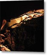 Palamidi Fortress Metal Print by David Waldo
