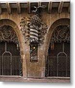 Palau Guell 1886 To 88 Gaudi Barcelona Spain Dsc01413 Metal Print