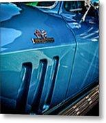 Pale Blue Rider -2 Metal Print