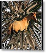 Pale Horse Metal Print by Aidan Moran