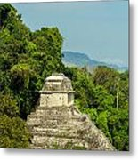 Palenque Temple Metal Print