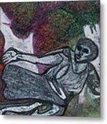 Paleolithic Era Man Metal Print