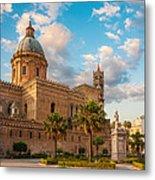 Palermo Cathedral Metal Print