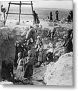 Palestine Archeology Metal Print