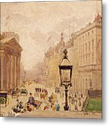 Pall Mall From The National Gallery Metal Print