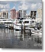 Palm Beach Docks Metal Print