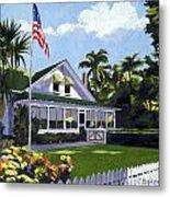 Palm Cottage Naples Florida Metal Print