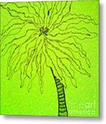 Palm Green Metal Print