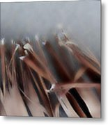 Palm Leaf Metal Print by Eileen Shahbazian
