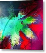 Palm Prints Metal Print