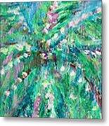 Palm Tree By Jan Marvin Metal Print