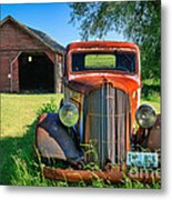 Palouse Dodge Metal Print