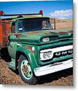 Palouse Gmc Truck Metal Print