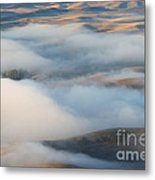 Palouse Morning Mist Metal Print