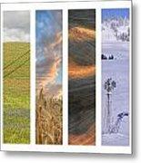 Palouse Seasons II Metal Print by Doug Davidson