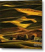 Palouse Sunset From Steptoe Butte Metal Print