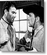 Pals Of The Saddle, John Wayne Left Metal Print
