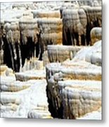 Pamukkale Terraces Metal Print