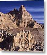 Panaca Sandstone Formations Cathedral Gorge State Park Nevada Metal Print