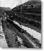 Panama Canal, 1908 Metal Print
