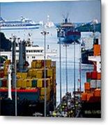 Panama Canal Express Metal Print