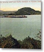 Panama Canal La Boca Metal Print