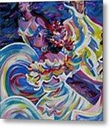 Panama Carnival. Folk Dancers Metal Print