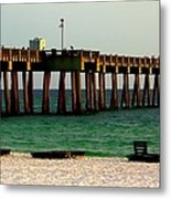 Panama City Beach Pier 2  Metal Print