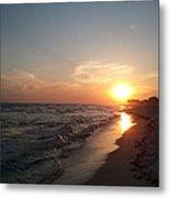 Panama City Beach Sunset Metal Print