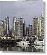 Panama City Skyline Panama Metal Print
