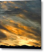 Panamint Sunset Metal Print