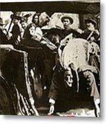 Pancho Villa Ambushed July 20 1923 1923 Dodge Touring Car 1923-2013 Metal Print