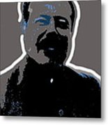 Pancho Villa Portrait Unknown Location Or Date-2013 Metal Print