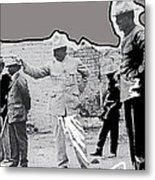 Pancho Villa  Shooting Pistol Mexico City 1914-2013 Metal Print
