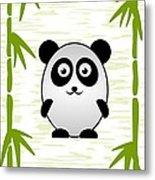 Panda - Animals - Art For Kids Metal Print
