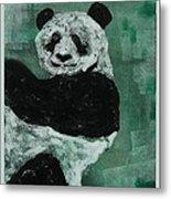 Panda - Monium Metal Print