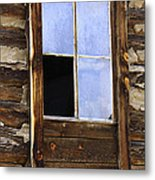 Panes Of Yesteryear Metal Print