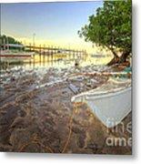 Panglao Port Sunset 4.0 Metal Print
