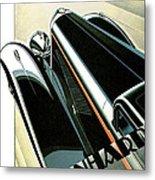 Panhard Car Advertisement Metal Print