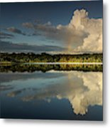 Panorama, Anangurocha Lake, Lagoon Metal Print