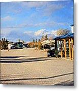 Panorama Cedar Cove Rv Park Street 3 Metal Print